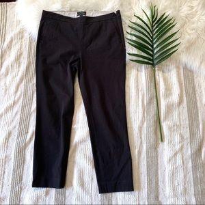 "J Crew▪️""Martie""Slim Crop Bi-Stretch Cotton Pants"